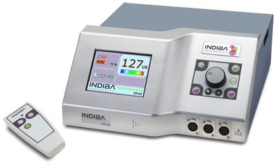 The INDIBA® Deep Beauty equipment